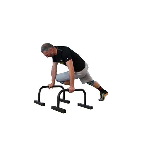 Cross Knees Parallettes
