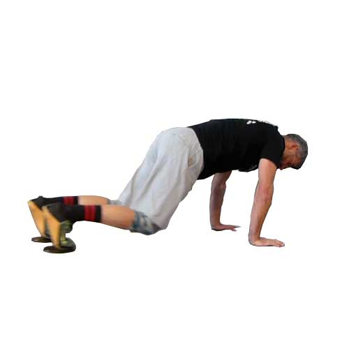 Knee pull Core Sliders