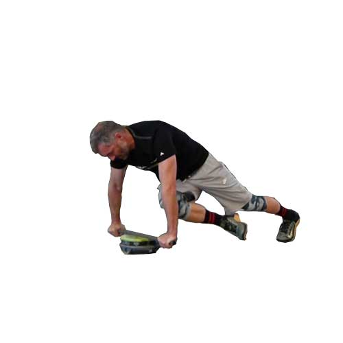 Cross knees Core Disc