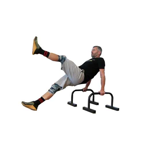 Single leg lift Parallettes