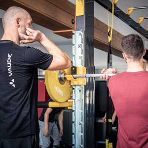 Personal-Training im Fitness Studio Exenberger