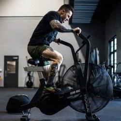 Tabata Functional Training (Wall Ball + Assault Bike)